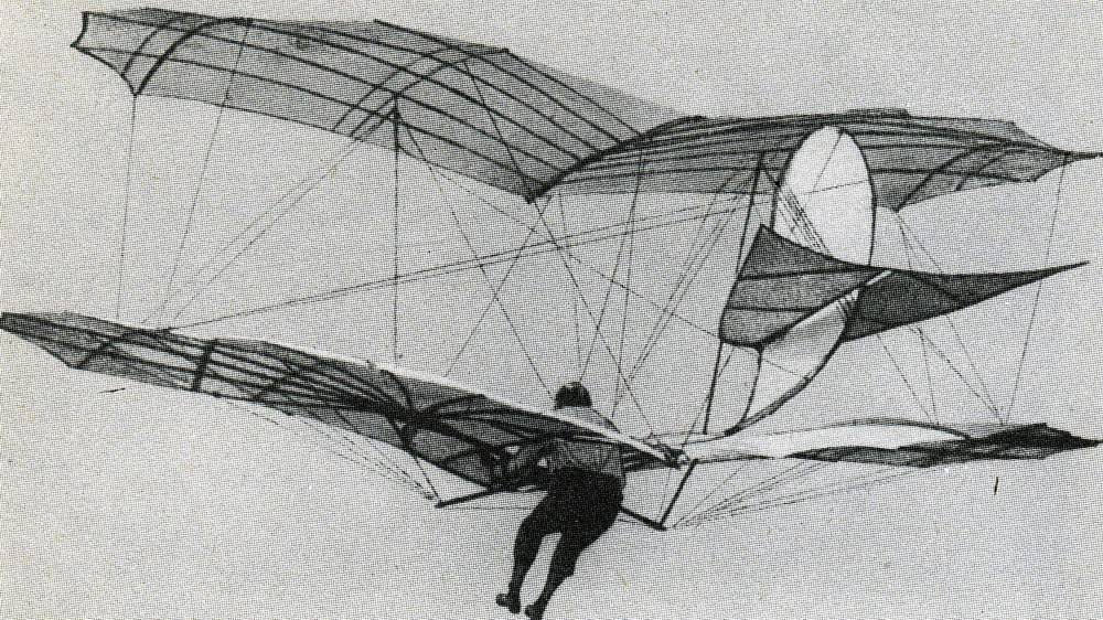 Apologise, otto lilienthal first gliders can not
