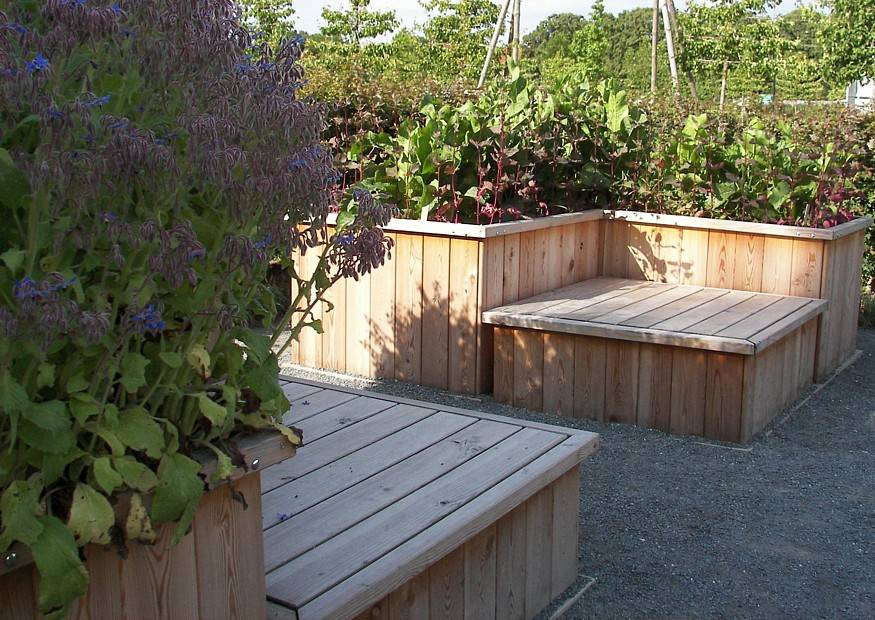 Etagere Aus Holz Selber Bauen ~ Gärtnern on Pinterest  Raised Garden Beds, Raised Flower Beds and