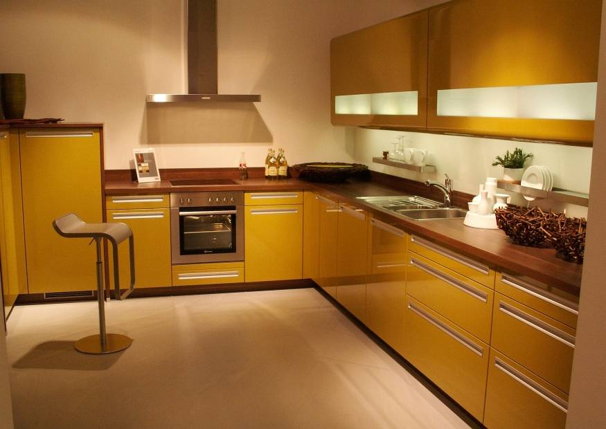 White And Yellow Kitchen Images